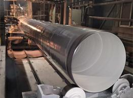 Plastic PE Coated Steel Pipe Excels Water Supply