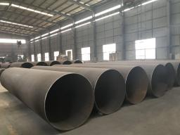 Precautions for the Placement of Spiral Steel Pipe