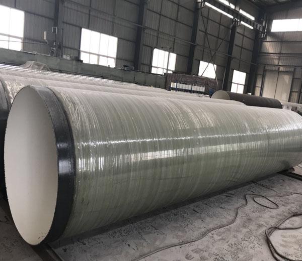 Abrasion-Resistant Epoxy Glass Fiber Anti-corrosion Steel Pipe
