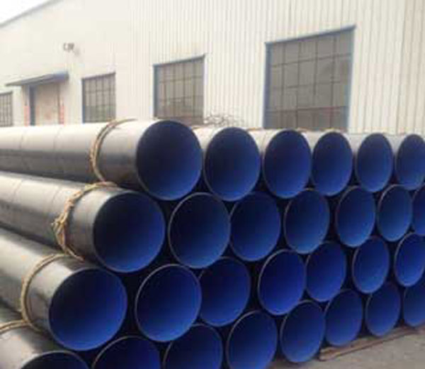 Plastic coated composite steel pipe
