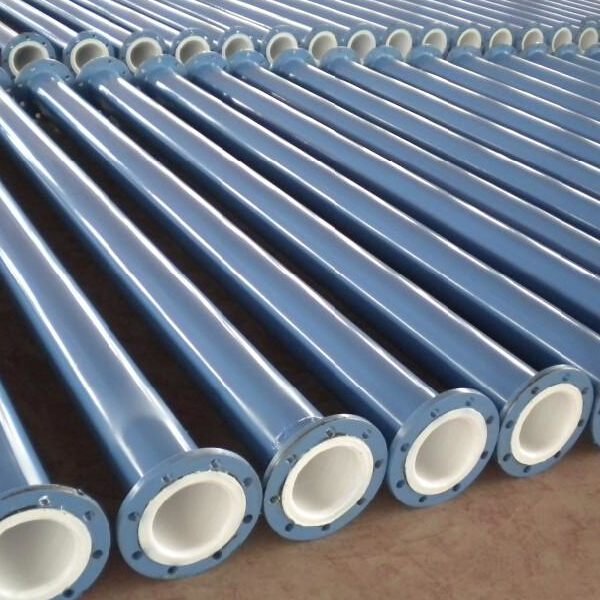 Plastic coated electric steel pipe