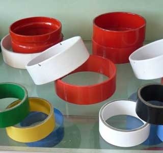 Plastic coated composite pipe