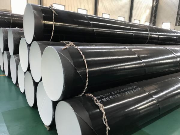 Inside Epoxy Outside Polyethylene Coated Steel Pipe