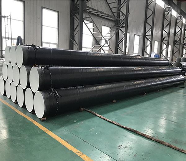 """Inside Epoxy Outside Polyethylene Coated Steel Pipe 24""""XSCH20"""