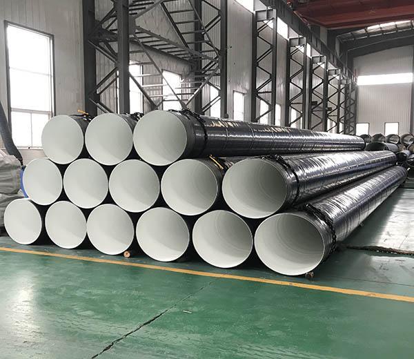 Inside Epoxy Outside Polyethylene Coated Steel Pipe 24