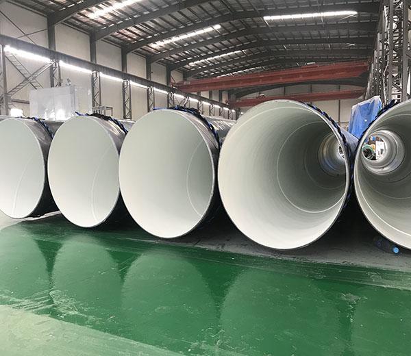 """Inside Epoxy Outside Polyethylene Coated Steel Pipe 32""""XSCH20"""