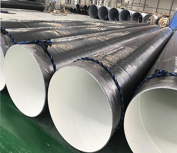 Inside Epoxy Outside Polyethylene Coated Steel Pipe 32