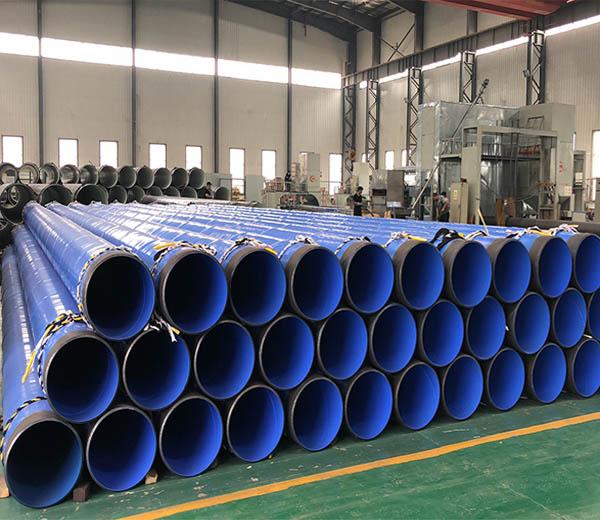 """Inside Epoxy Outside Polyethylene Coated Steel Pipe 16""""XSCH40"""