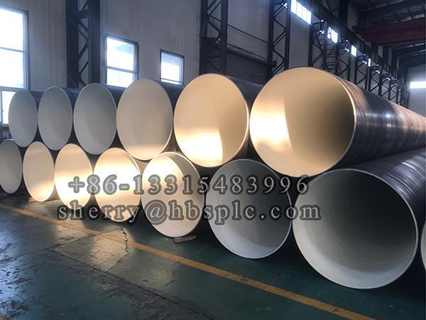 Inside Epoxy Coated steel pipe D1020X12