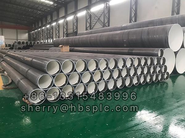 Inside Epoxy Coated Steel Pipe D273X9