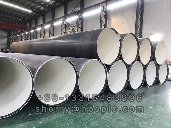 Inside Epoxy coated steel pipe 48