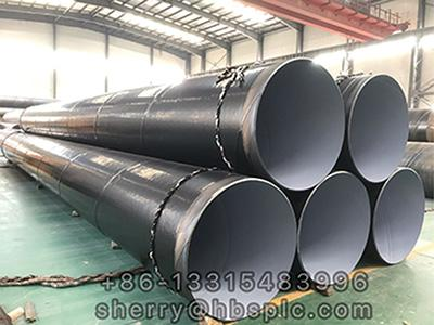 Inside Epoxy Outside Polyethylene Coated Steel Pipe DN1000