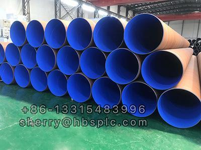 FBE Coating steel pipe D630X12