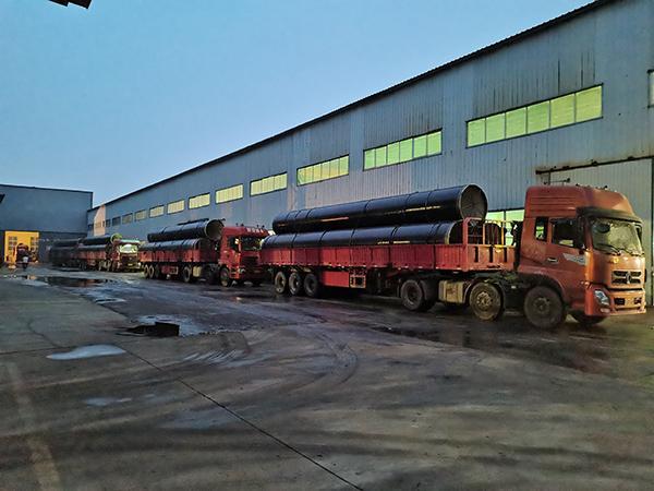3LPE steel pipe OD1321